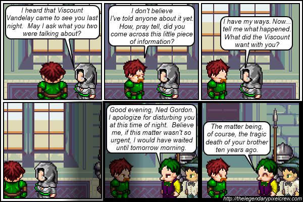"Strip 268 - ""The tragic death ten years ago"""