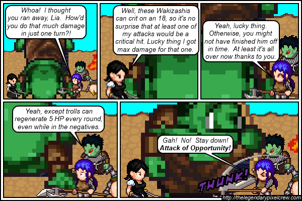 "Strip 312 - ""Okay, here's what really happened"""