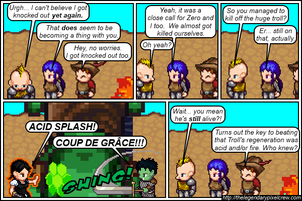 "Strip 313 - ""Acid Splash is a 0th level spell"""
