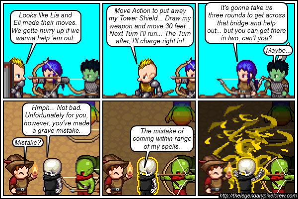 "Strip 353 - ""Another tough battle?"""