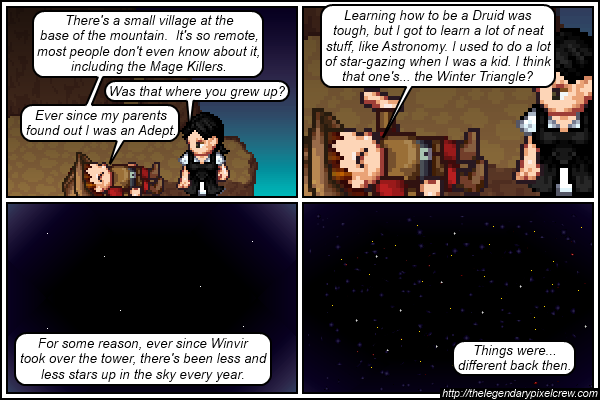 "Strip 374 - ""Navigating by stars back then was way easier"""