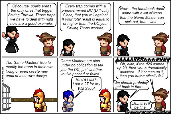 """Strip 395 - """"Saving Throws Part 3"""""""