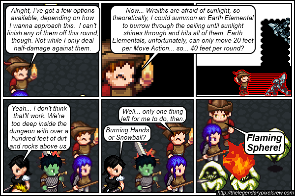 "Strip 426 - ""If all else fails, burn 'em"""
