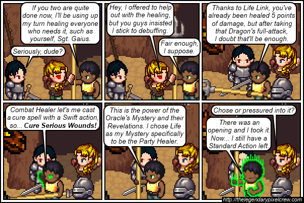 "Strip 455 - ""Healers are kinda important, ya know"""