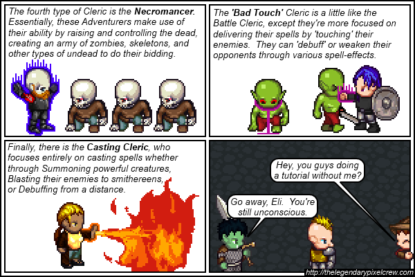 "Strip 442 - ""The many different types of Clerics Part 3"""