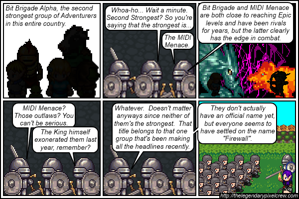 "Strip 500 - ""Those with the best chance of defeating the Tower of Ansuz"""