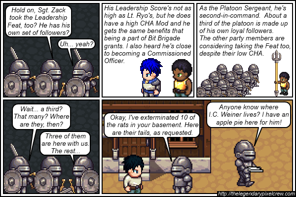 "Strip 498 - ""The Leadership Feat - Part 4"""