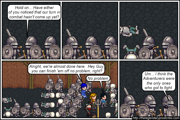 "Strip 501 - ""Their fight just kind of... happened off screen"""