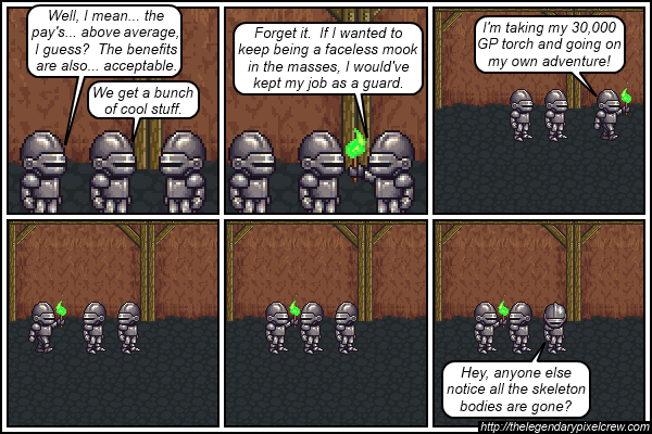 "Strip 504 - ""There is no escape"""
