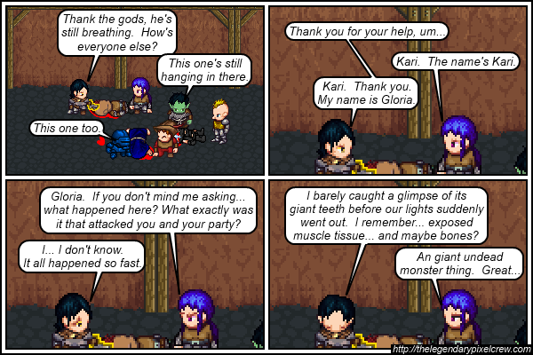 "Strip 521 - ""At least the XP will be worth it?"""