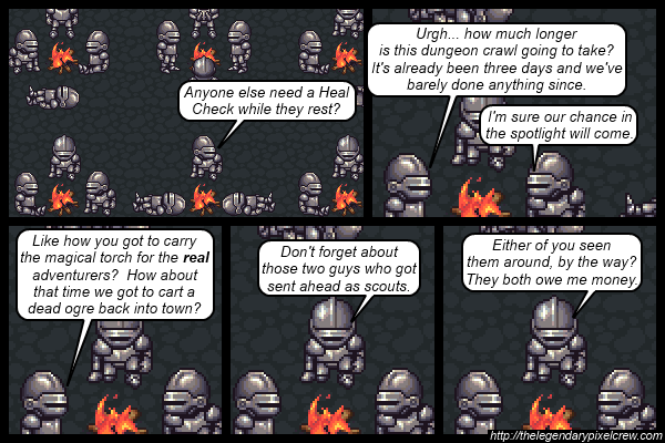 "Strip 537 - ""Why are they following these adventurers again?"""