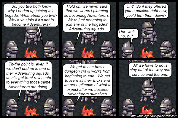 "Strip 538 - ""Maybe they should've went straight to being Adventurers after all"""