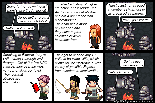 "Strip 541 - ""NPC Classes part 3"""