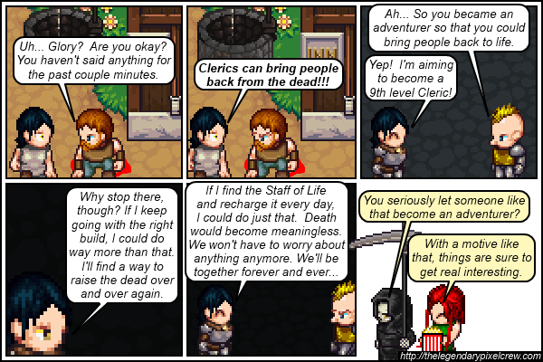 "Strip 546 - ""Gloria's backstory - part 2"""