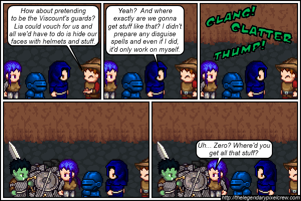"Strip 571 - ""A little afraid to ask..."""