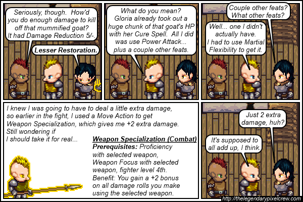 "Strip 632 - ""Weapon Specialization"""