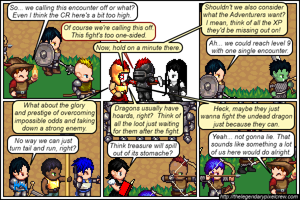 "Strip 672 - ""Normal Adventurers are normally not this easy to bait"""