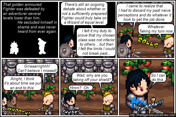 """Strip 105 - """"Phaedrus vs. Gaius - Round 3"""""""