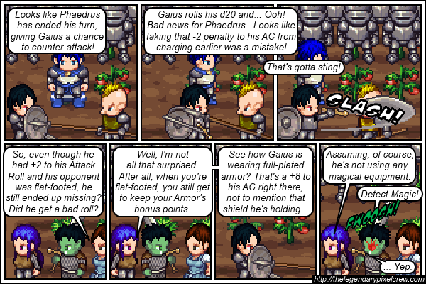 "Strip 102 - ""They have the same type of armor, though..."""