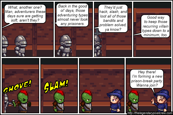 "Strip 125 - ""Another common scenario"""