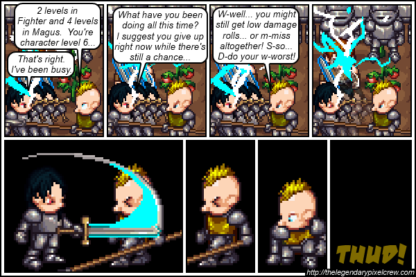 "Strip 115 - ""Phaedrus vs. Gaius - End"""