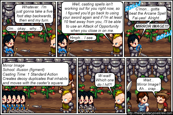 "Strip 109 - ""Phaedrus vs. Gaius - Round 4"""