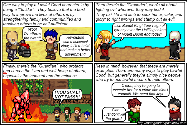 Strip 137 - Alignment Tutorial - Part 3 (Lawful Good)