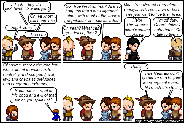 Strip 143 - Alignment Tutorial - Part 9 (True Neutral)