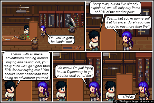 Strip 154 - How many ranks did she put in that one again?