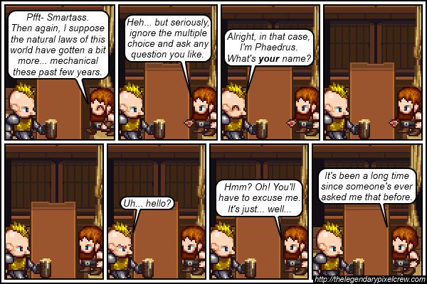 "Strip 173 - ""Everyone just calls him Barkeep"""