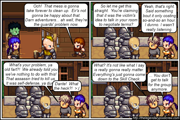 "Strip 185 - ""He must not negotiate a lot"""