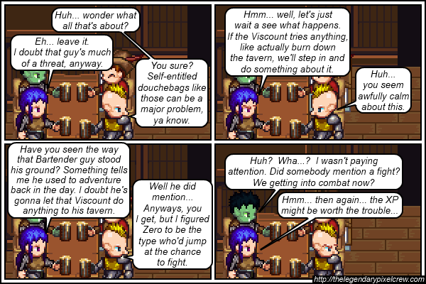 "Strip 193 - ""Catastrophe averted? ~_^"""