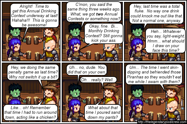 "Strip 195 - ""Penalty Game?"""