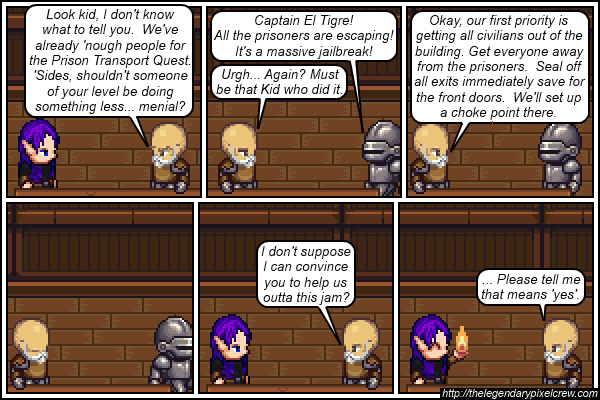 "Strip 226 - ""That means yes"""