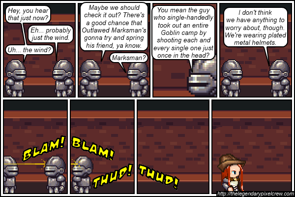 "Strip 223 - ""Boom!  Headshot!"""